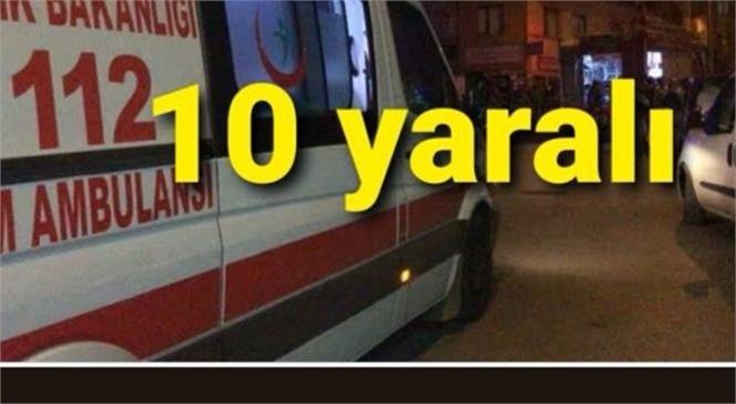 Mersin Tarsus'ta Düğünde Maganda Dehşeti; 10 Yaralı