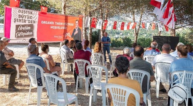 """Büyükşehir ve Mersinden Kadın Kooperatifi """"Organik Tarım"""" İçin Adım Attı"""
