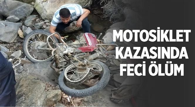 Mersin'in Erdemli İlçesinde Feci Kaza! Motosikletiyle Uçuruma Yuvarlanan Sürücü Hayatını Kaybetti