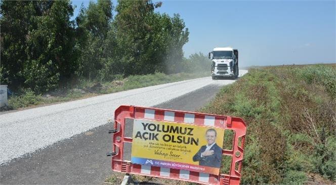 Büyükşehir, Tarsus'a Bağlı Alifakı-çağbaşı-çiçekli-karaçerçili ve Simithacılı Grup Yolunu Yeniliyor