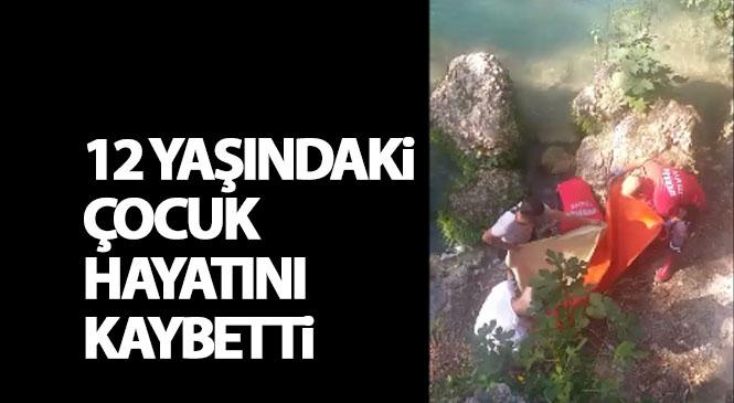 Mersin'in Tarsus İlçesinde Meydana Gelen Olayda Şelalede Gezerken Kayalıktan Suya Düşen Çocuk Hayatını Kaybetti