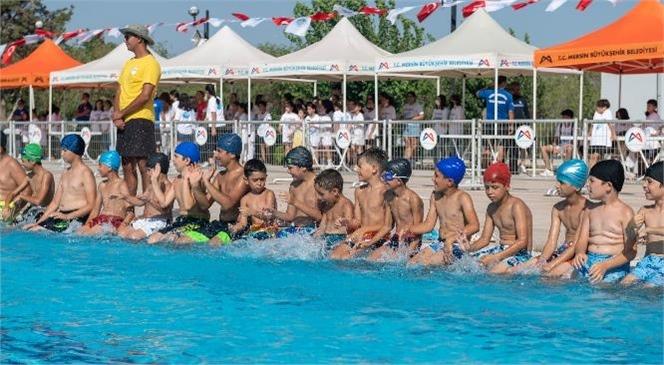 Mersin Büyükşehir'in Yaz Spor Kurslarının 1'inci Etabı Tamamlandı