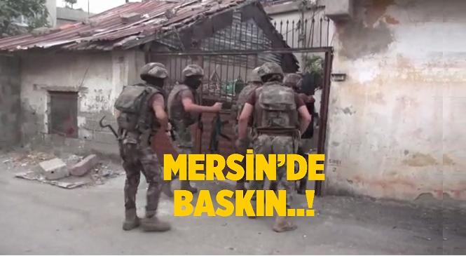 Mersin'de Terör Örgütü DEAŞ Operasyonu! Yapılan Baskında 7 Şüpheli Gözaltına Alındı