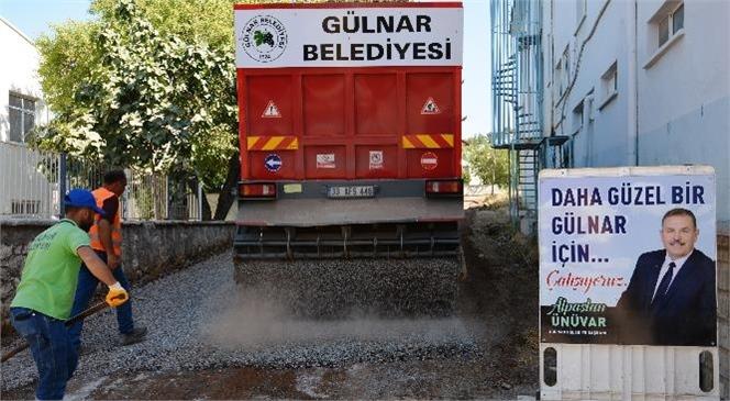 Gülnar Belediyesi Kaliteli, Güvenli ve Konforlu Yol Hizmeti İçin İlçe Genelinde Yol ve Asfalt Çalışmalarını Sürdürüyor.