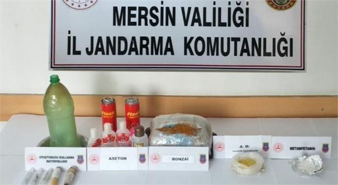 İl Jandarma Komutanlığı Ekiplerinden Mersin'de Uyuşturucu Operasyonu
