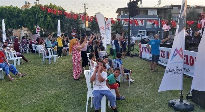 Turgut Türkalp Mahallesi'nde Vatandaşlar Müziğe Doydu