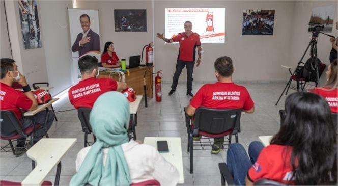 Mersin Büyükşehir İtfaiyesi'nden Odunpazarı Belediyesi'ne Eğitim