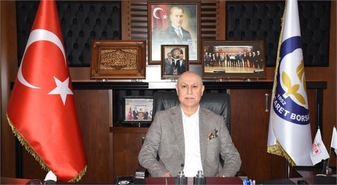 Tarsus Ticaret Borsası Başkanı Murat Kaya, 30 Ağustos Zafer Bayramı'nı Kutladı