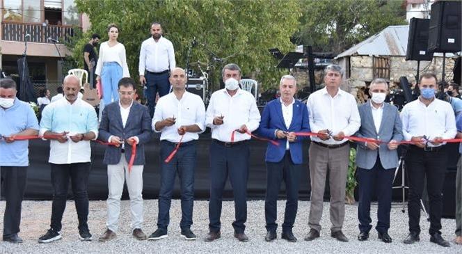 Anamur Belediyesi Tarafından İlçeye Bağlı Abanoz Yaylasında Yapımı Tamamlanan Halk Pazarı Tuğçe Kandemir Konseri İle Hizmete Açıldı
