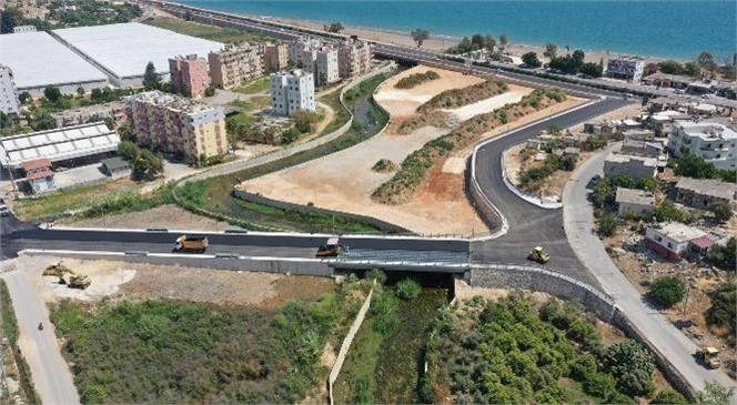 Mersin Büyükşehir, Lamos Köprüsü'nde Son Dokunuşları Yapıyor