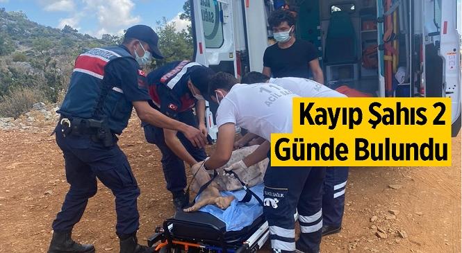 Mersin'in Aydıncık İlçesinde Kayıp Şahıs İki Gün Süren Arama Çalışmaları Sonucunda Ekipler Tarafından Bulundu