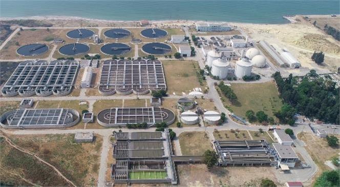 Karaduvar Atıksu Arıtma Tesisi'nde Arıtılan Sular Sanayide Kullanılacak