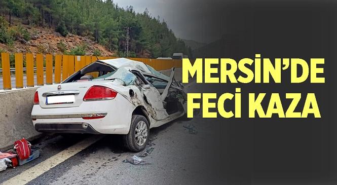 Mersin'in Tarsus İlçesinde Kaza! İlk Bilgilere Göre 1 Kişi yaralandı