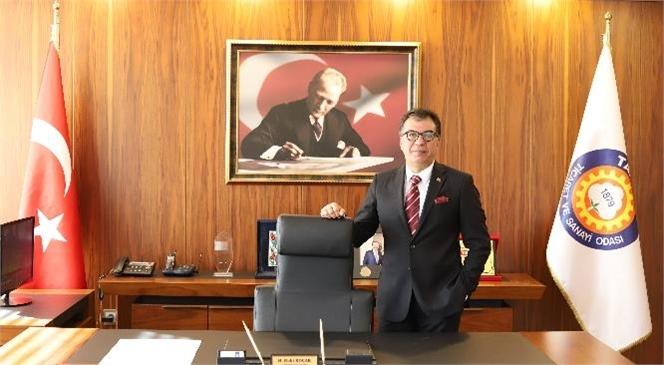 Tarsus Ticaret ve Sanayi Odası Başkanı H. Ruhi Koçak, 19 Eylül Gaziler Günü'nü Kutladı