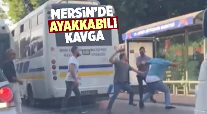 Anne Terliği Silah Sayılmıştı, Mersin Tarsus'taki Yolcu Kavgasında Eline Aldığı Ayakkabıyla Vurdu!