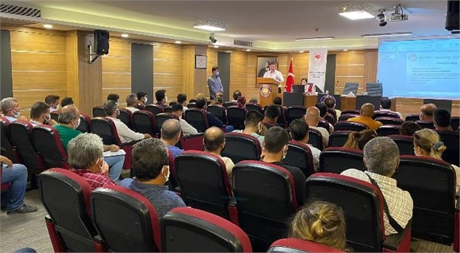 Tarsus İlçe Tarım ve Orman Müdürlüğü ve Mersin İl Tarım ve Orman Müdürlüğü Katkılarıyla Bilgilendirme Toplantısı Yapıldı