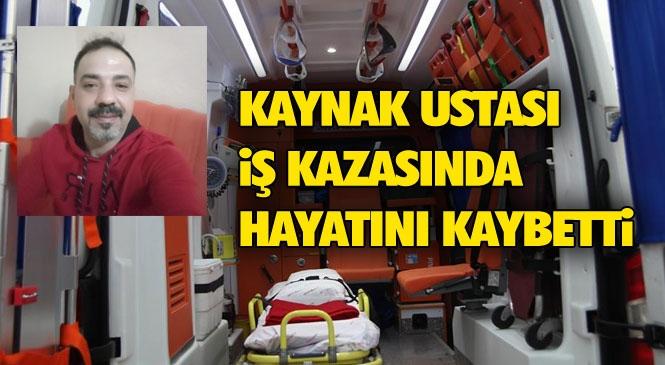 Tarsus'ta İş Kazası! Mersin Tarsus Organize Sanayindeki Bir Fabrikadaki İş Kazasında Mustafa Uyar İsimli İşçi Hayatını Kaybetti
