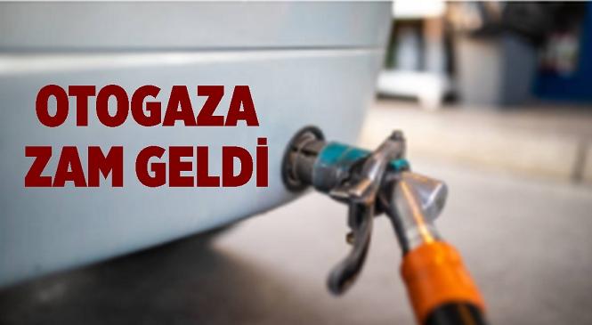 Otogaz Fiyatlarına 2 Ekim Cumartesi Gününden İtibaren Geçerli Olmak Üzere 71 Kuruş Zam Geldi