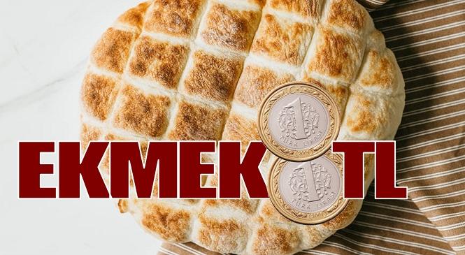 Mersin'in Mut İlçesinde Ekmeğe Zam! Hem Gramajı Hem Fiyatı Arttı