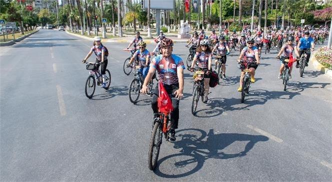 Mersin Büyükşehir'den Caretta Bisiklet Festivali