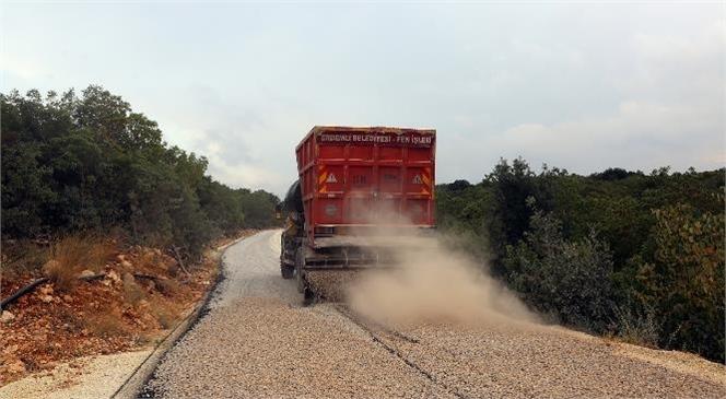 Kırsal Kesimde Yer Alan Veyselli Mahallesinde Yollar Yapılıyor, Yüzler Gülüyor