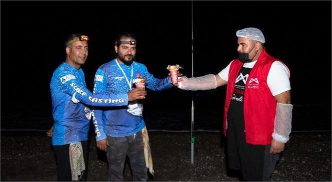 """""""1 Ekmek 1 Çorba"""" Turnuvada Olta Balıkçılarının İçini Isıttı"""