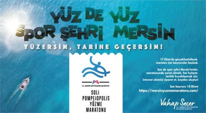 Onlarca Yüzücü 17 Ekim'de Mersin'in Maviliklerinde Kulaç Atacak