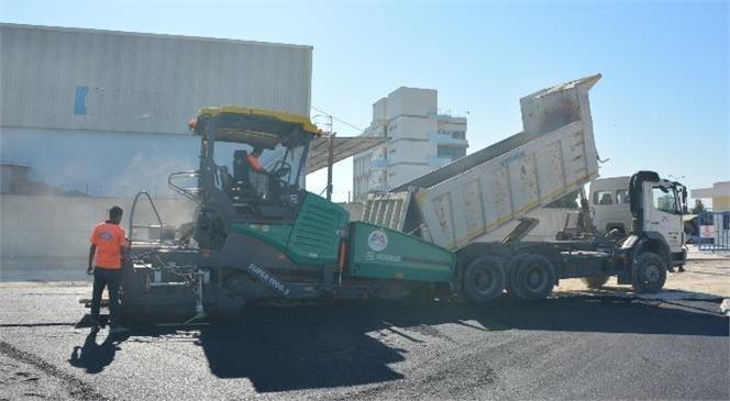 Tarsus Ticaret Borsası'nı D-400 Karayoluna Bağlayan Yol, Büyükşehir Ekipleri Tarafından Asfaltlandı