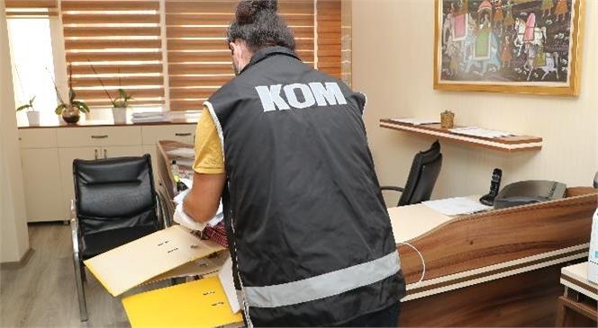 Mersin Gümrükte Eş Zamanlı Operasyonda 9 Şüpheli Gözaltına Alındı