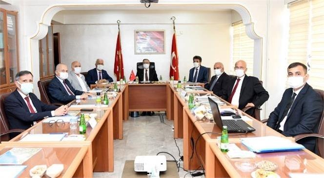 Erdemli-osb'nin Kurucu Ortaklar Protokolü Vali Ali İhsan Su Başkanlığında Yapılan Toplantıda İmzalandı