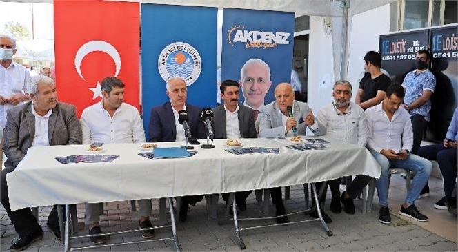 Başkan Mustafa Gültak; Nakliyeci Esnafı İle Bir Araya Geldi