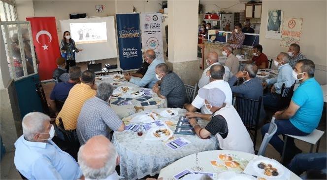 Mersin Akdeniz'deki Kahvehanelerde Kadına Yönelik Şiddetle Mücadele Sohbeti