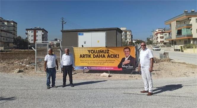 Büyükşehir Belediyesi'nden Tarsus Bağlar Mahallesi'nde Asfalt Çalışması