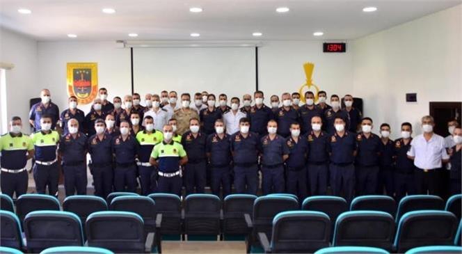 Jandarma Trafik Timleri Değerlendirme Toplantısında Biraraya Geldi