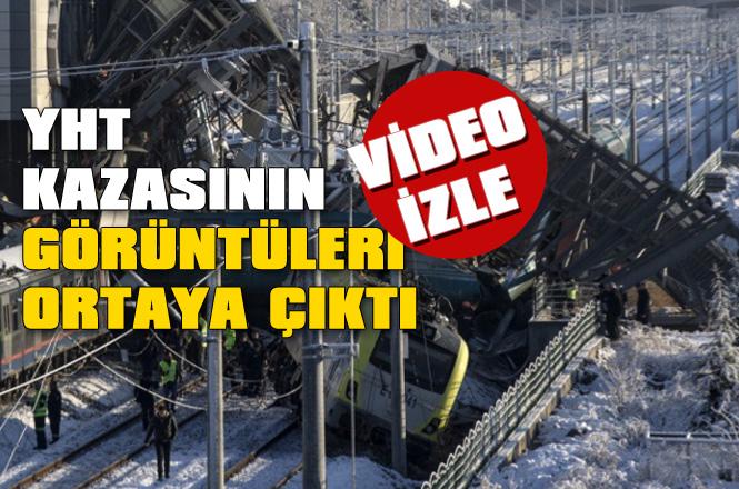 Ankara'daki Tren Kazasının Görüntüleri Yayınlandı! Kaza Anı Videosu