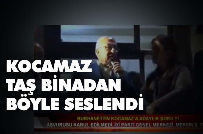 Burhanettin Kocamaz'ın Taş Binadaki Konuşması