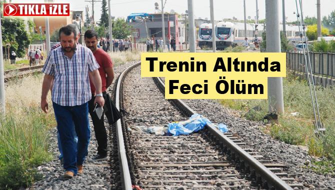 Tarsus'ta Yaşlı Kadın Trenin Altında Kaldı