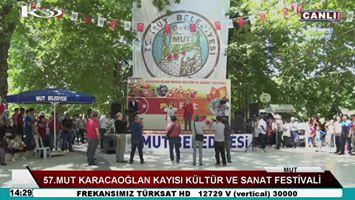 Canlı Yayın: 57.Mut Karacaoğlan Kayısı Kültür ve Sanat Festivali