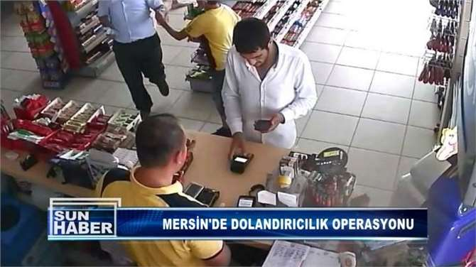 Mersin'de Kredi Kartı Dolandırıcılığı