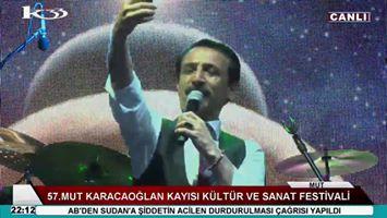 Konser: 57.Mut Karacaoğlan Kayısı Kültür ve Sanat Festivali