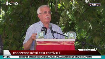 12.Gezende Köyü Erik Festivali (gülnar)