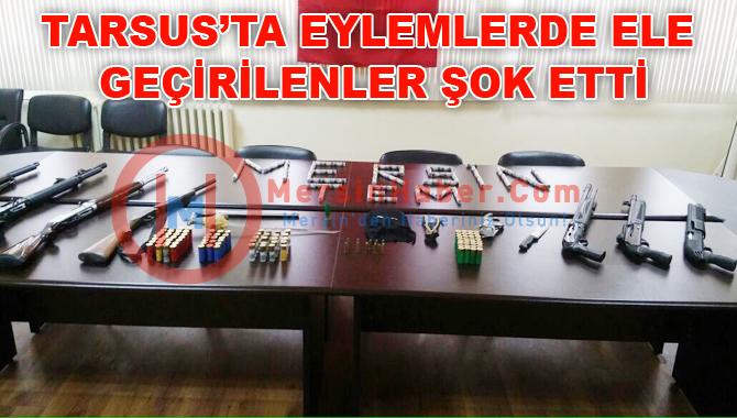 Tarsus'taki Operasyon'da Ele Geçirilen Malzemeler Şoke Etti