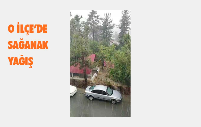 Mersin Çamlıyayla'da Sağanak Yağış (Canlı Yayın)