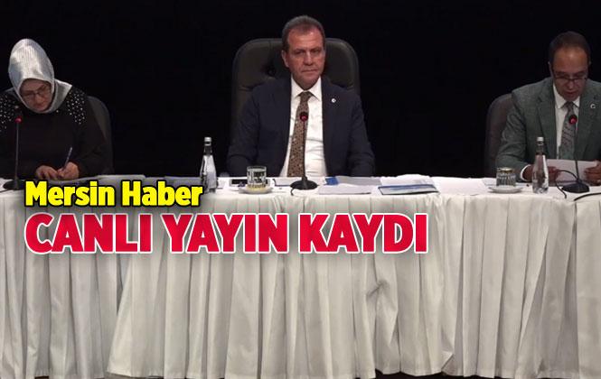 Canlı Yayın Kaydı: Mersin Büyükşehir Belediye Meclisi 2019 Yılı Haziran Ayı Toplantısı