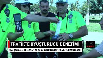 Video Haber: Mersin'de Trafik Kontrollerinde Alkol Kontrolünde Uyuşturucu Testi