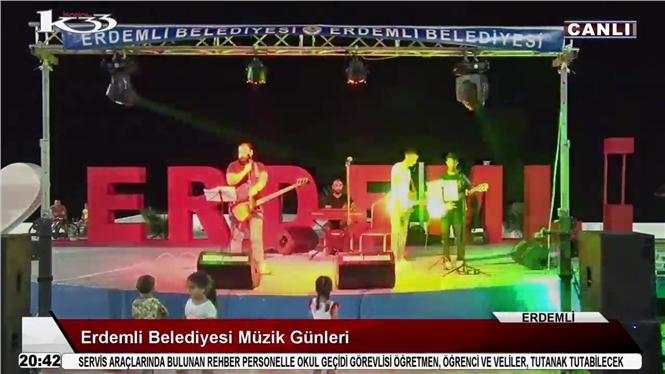 Erdemli'de Konser! Erdemli Belediyesi Müzik Günleri