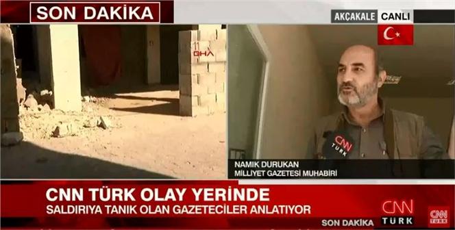 Son Dakika! Akçakale'de Gazetecilerin Kaldığı Otele Hava Topu Atıldı CANLI YAYIN