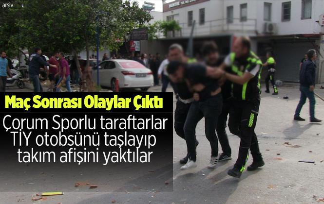 Yeni Çorumspor, Tarsus İdmanyurdu Maçı Sonrası Olaylar Çıktı