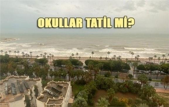 Mersin'de Okullar Tatil Mi? 8 Ocak 2020 Çarşamba Günü Tatil Olur Mu?