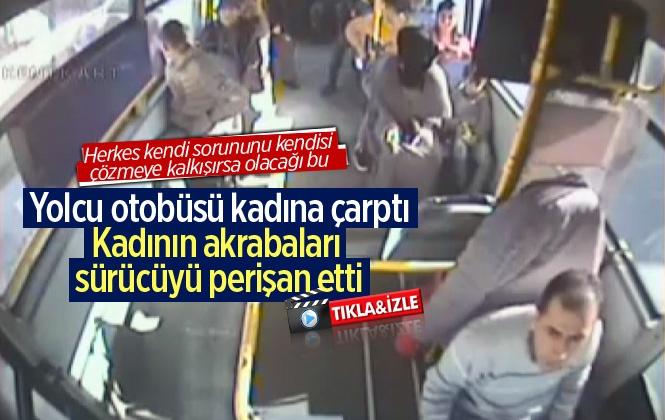Mersin Tarsus'ta Yolcu Otobüsü Şoförüne 'Cep Telefonu' Dayağı!